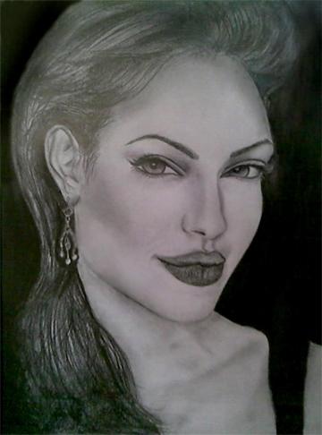 Angelina Jolie by zahra